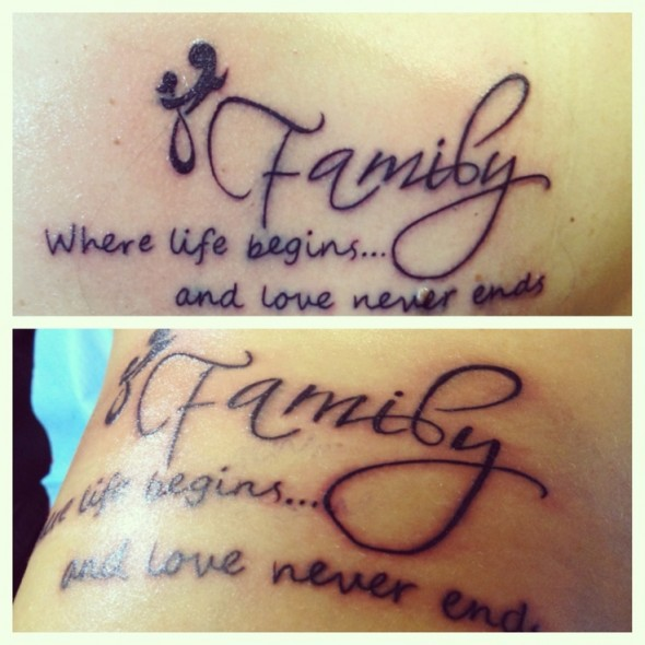 Girl With Tattoos Tumblr Quotes Family Tattoo Ideas: Mother Daughter Tattoos Cute Quotes. QuotesGram