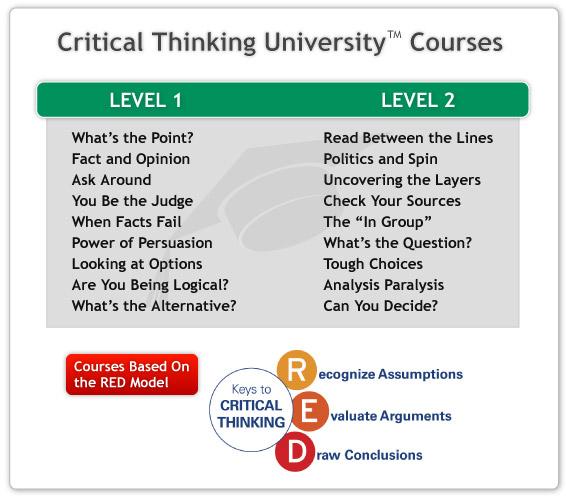 critical thinking tasks