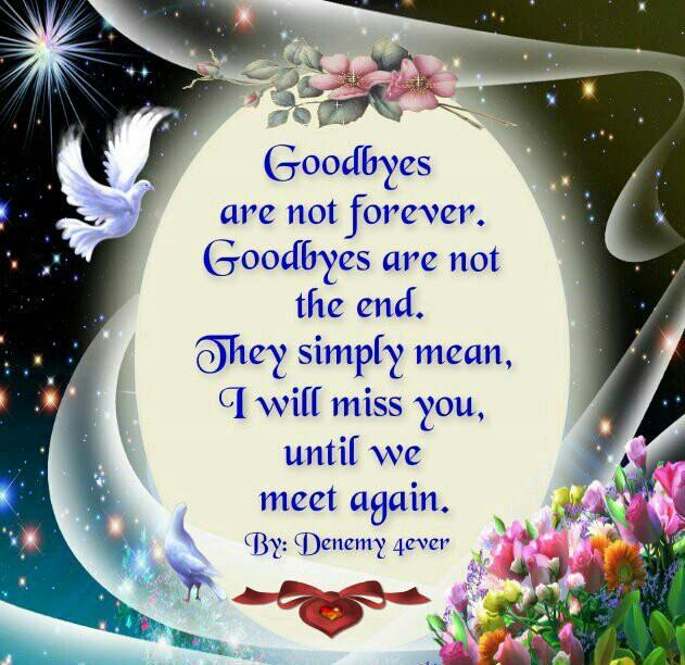 Until we meet again love poem