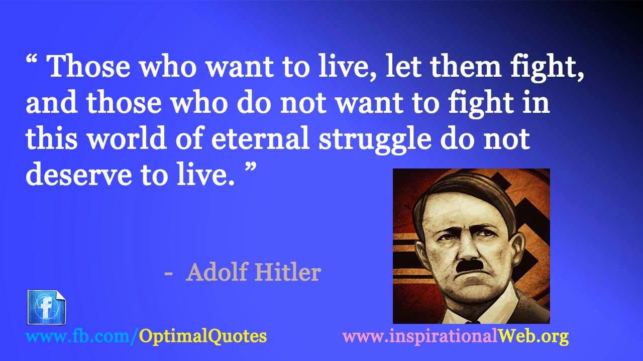 adolf hitler quotes quotesgram
