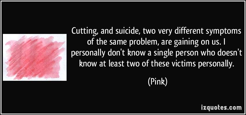 Cutting Suicide Quotes: Suicide Quotes. QuotesGram