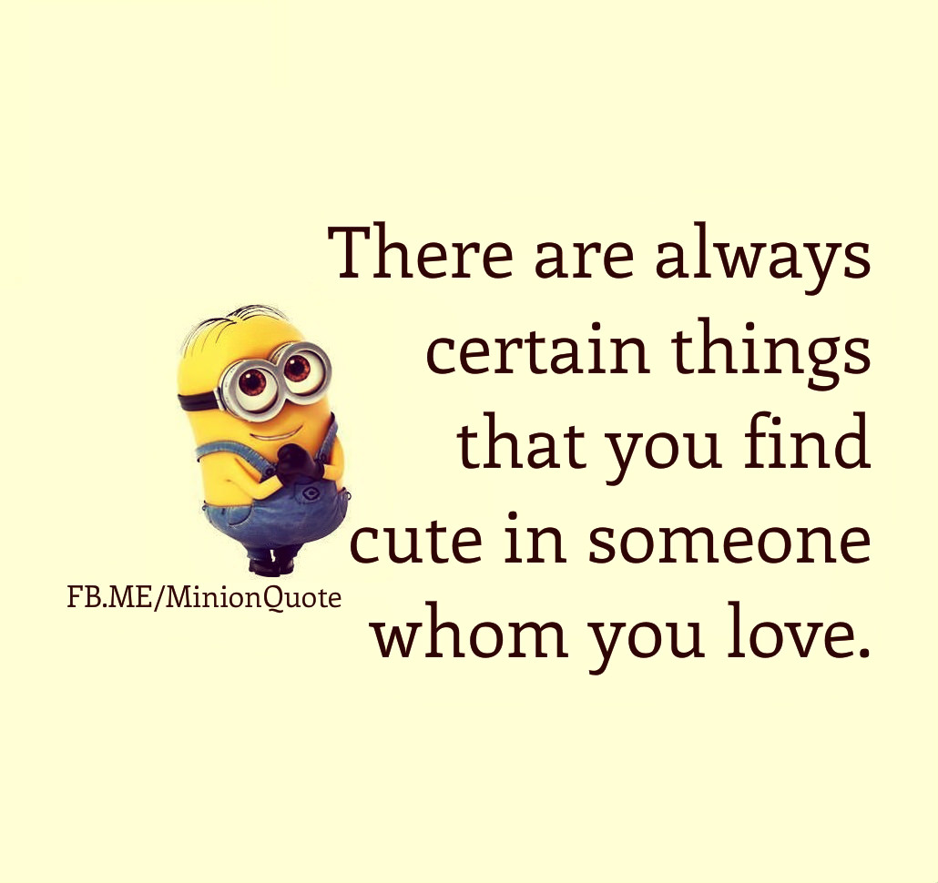 Minions Love Quotes Wallpaper : cute Quotes About Minions. QuotesGram