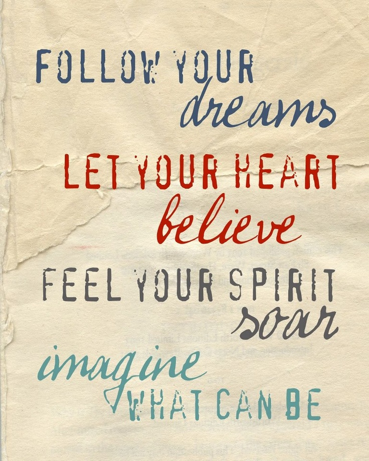 Follow Heart Or Mind Quotes: Quotes About Following Your Heart And Dreams. QuotesGram