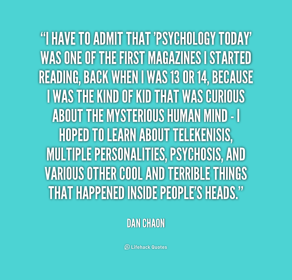 Psychology Quotes About Life Funny Quotesgram