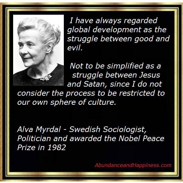 Alva Myrdal Quotes Quotesgram