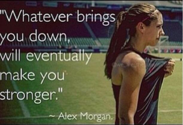 alex morgan inspirational quotes quotesgram