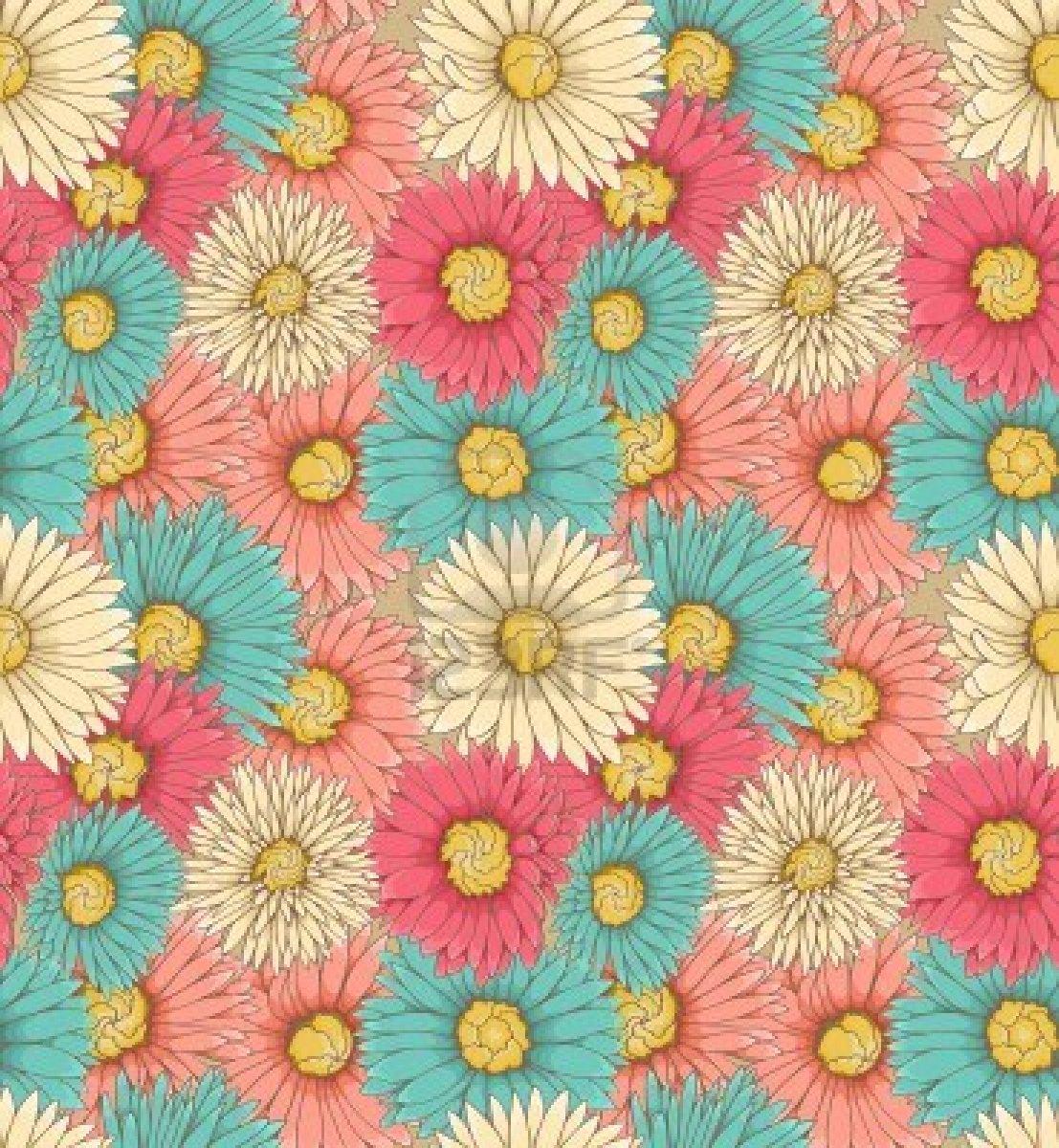 Flower background with quotes quotesgram for Fiori disegnati