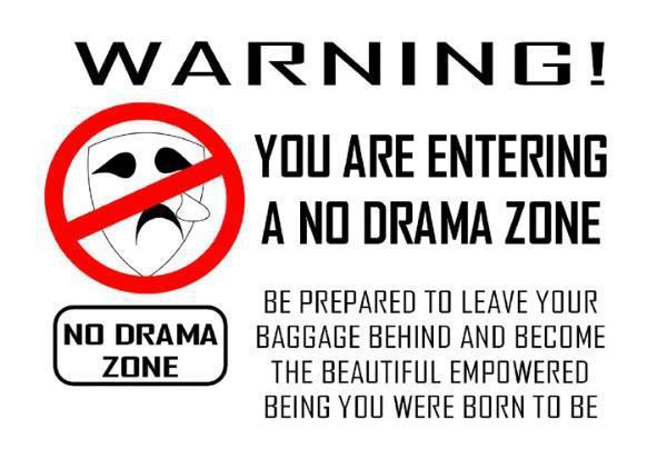 No Drama Quotes For Facebook. QuotesGram