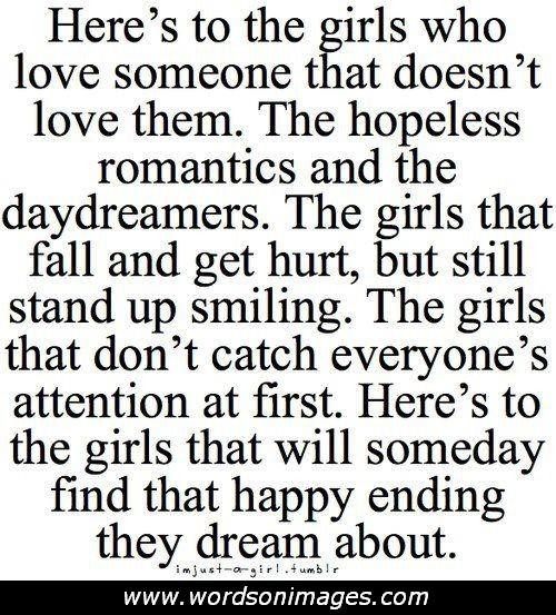 Cute Crush Sayings Hopeless Love Quotes A...