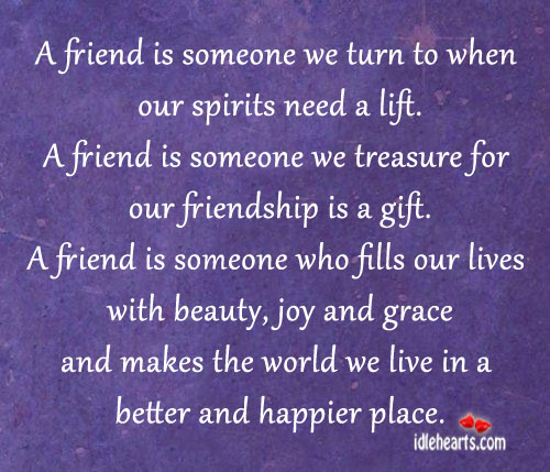 Quotes For Friends Lift Spirits Quotesgram