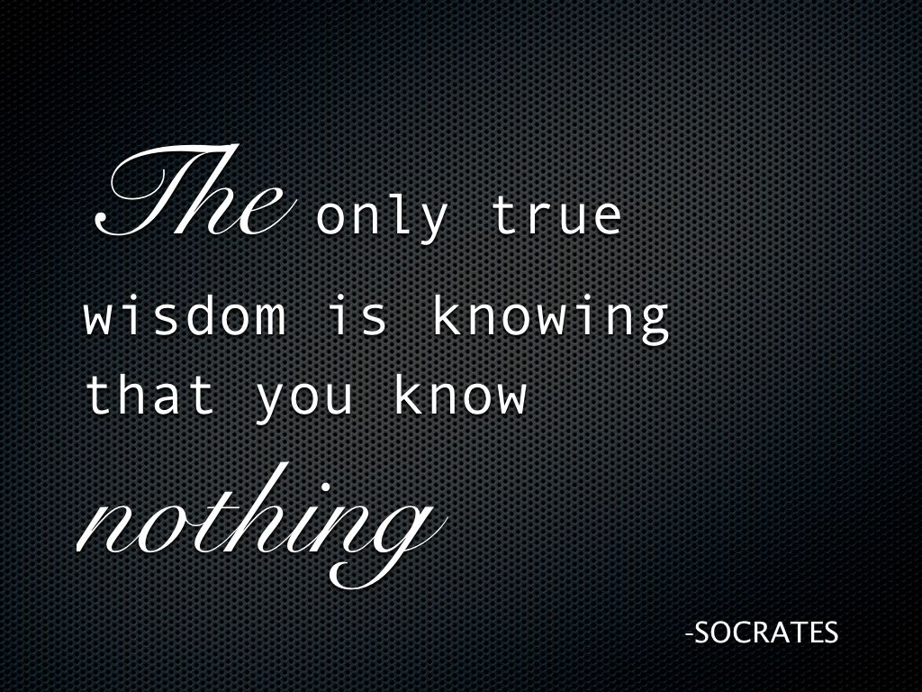 Socrates Quotes: Socrates Quotes On Knowledge. QuotesGram