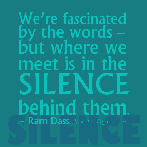 Silence Love Quote: Silence Quotes About Love. QuotesGram