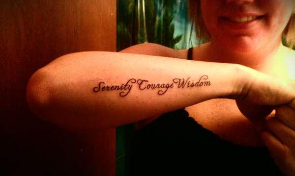 Bravery Quotes Tattoos. QuotesGram