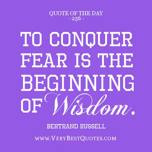 450 words essay on Fear
