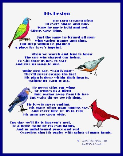 a poem on birds and men essay View and download poem analysis essays examples also discover topics, titles, outlines, thesis statements, and conclusions for your poem analysis essay.