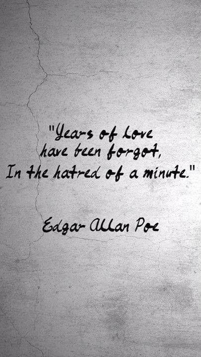 Edgar Allan Poe Love Quotes. QuotesGram