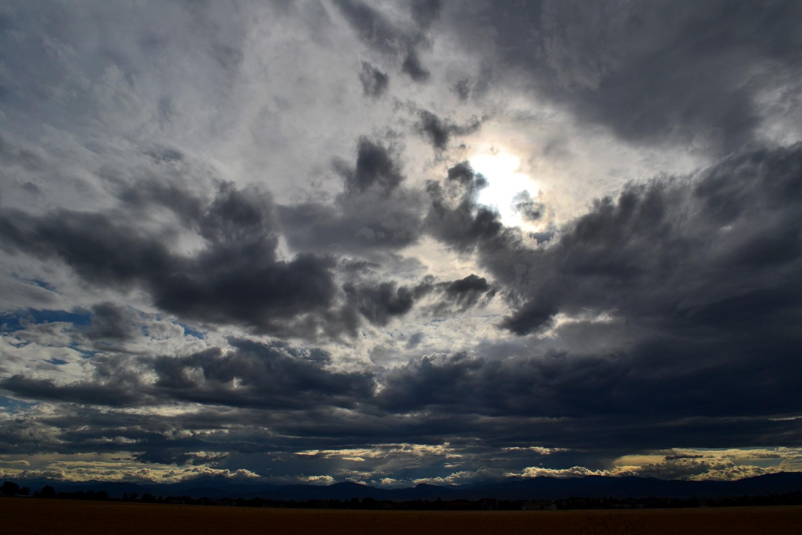 собственные грустное небо фото один