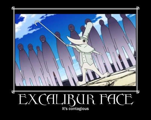 Excalibur soul eater quotes
