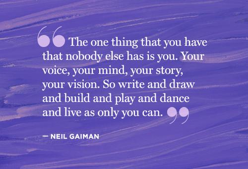 Writer Neil Gaiman Quotes