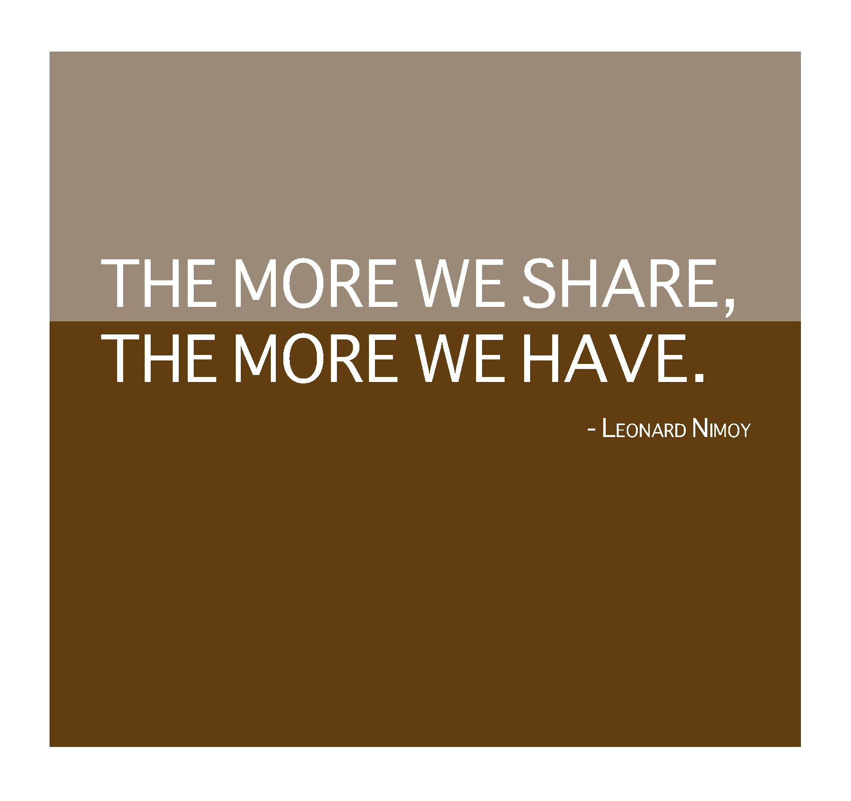 Famous Quotes About Sharing