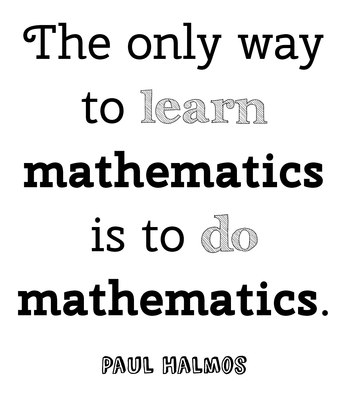 positive math quotes  quotesgram