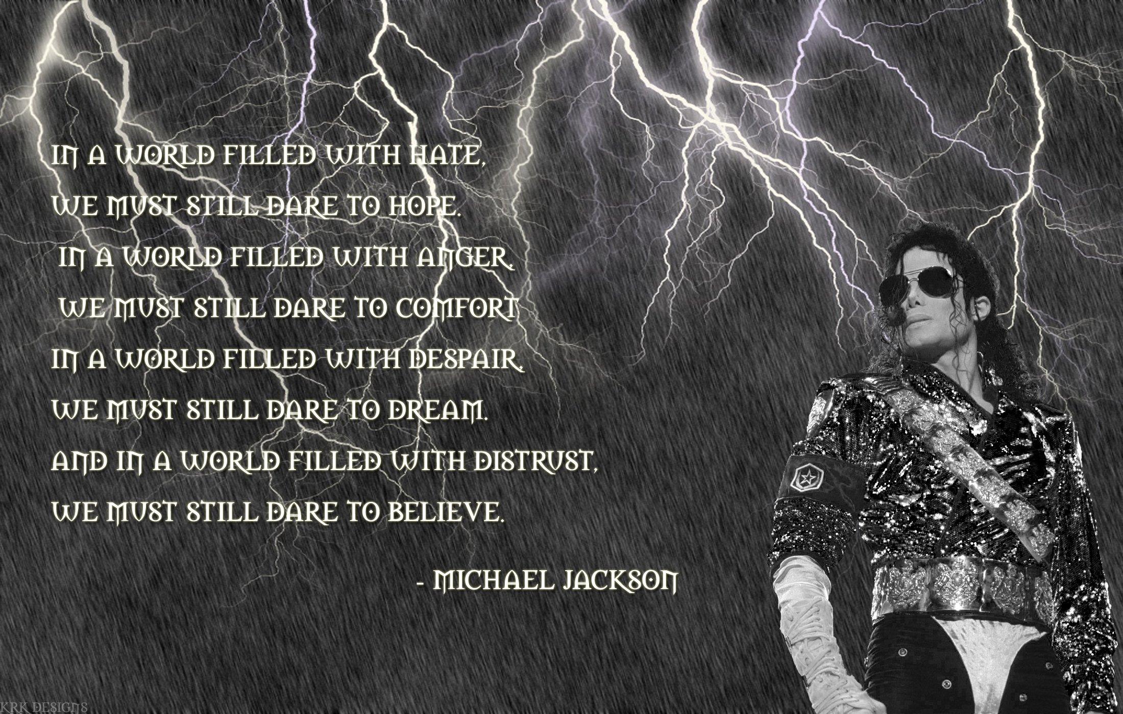 Wallpaper Michael Jackson Quotes Quotesgram