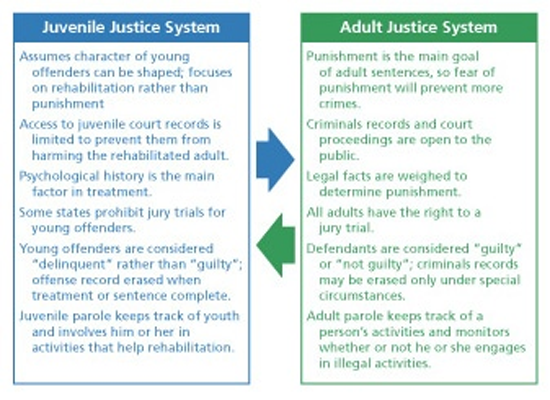 should juvenile offenders be tried in
