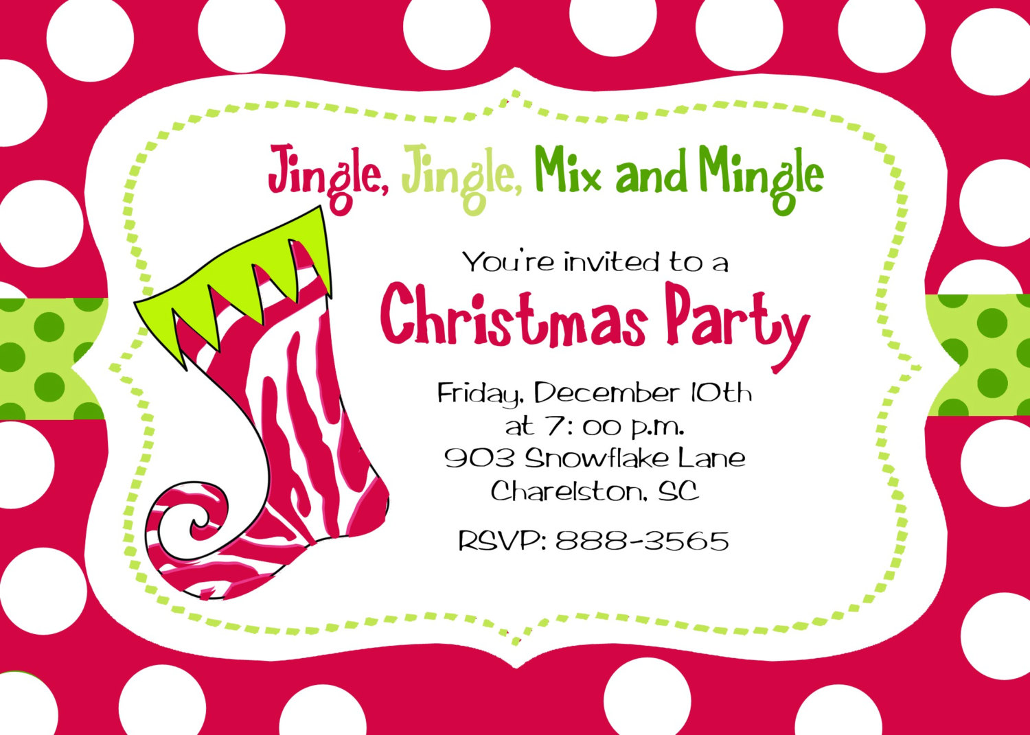 Christmas Party Invitation Quotes. QuotesGram Regarding Free Christmas Invitation Templates For Word
