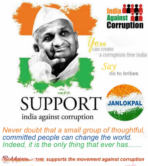 Paragraph on Corruption in India – by Anand