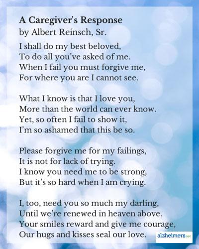 Caregivers Poems And Quotes Quotesgram