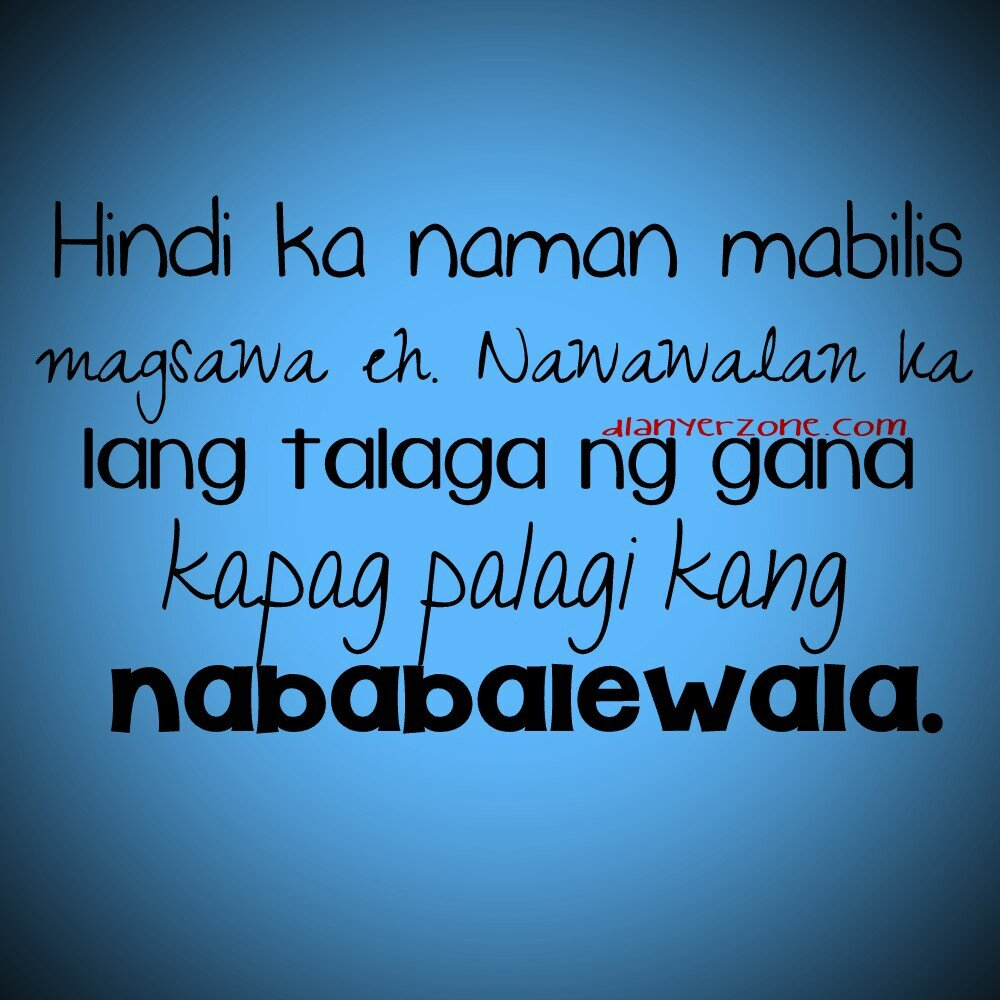 Twitter Tagalog Love Quotes. QuotesGram