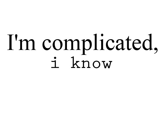 Complicated girls why are 10 Reasons