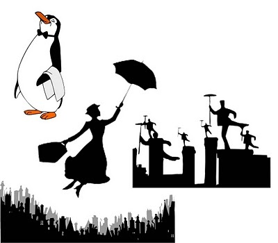 Black An D White Mary Poppins Quotes