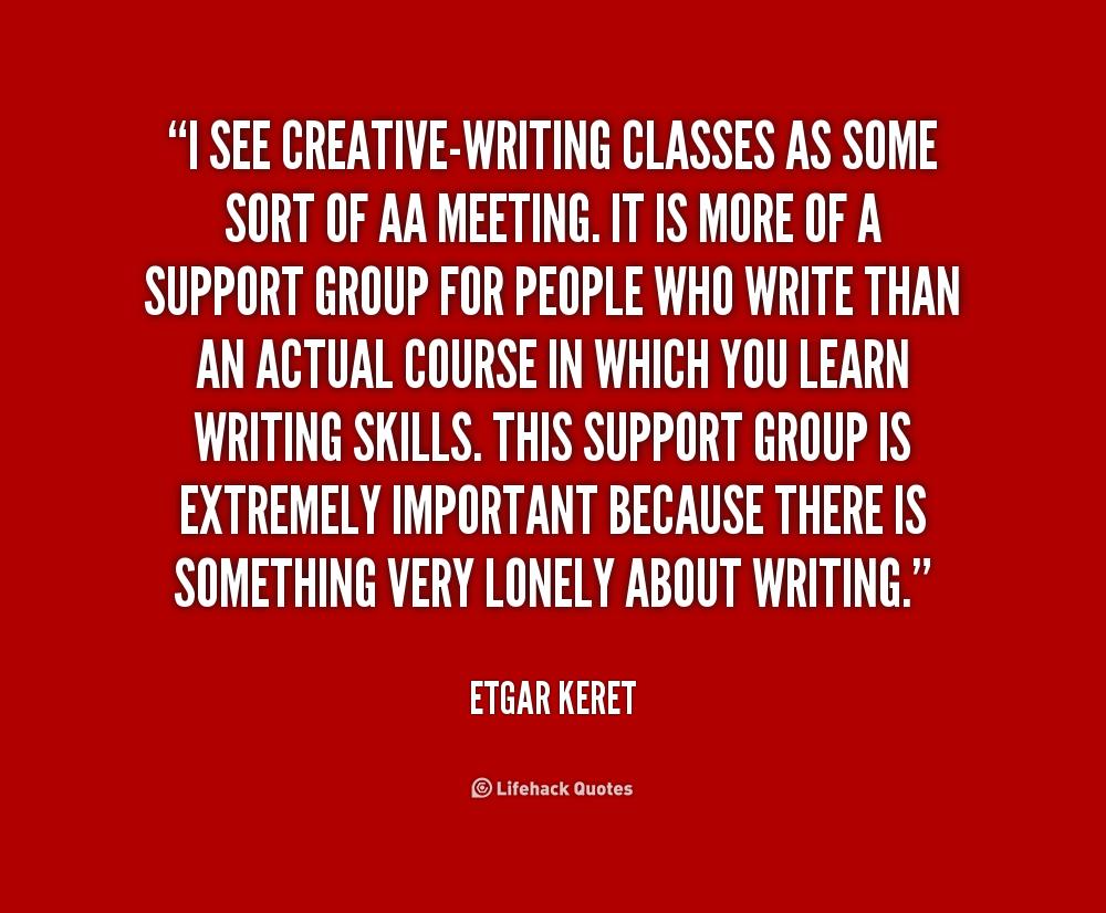 Creative writing by etgar keret