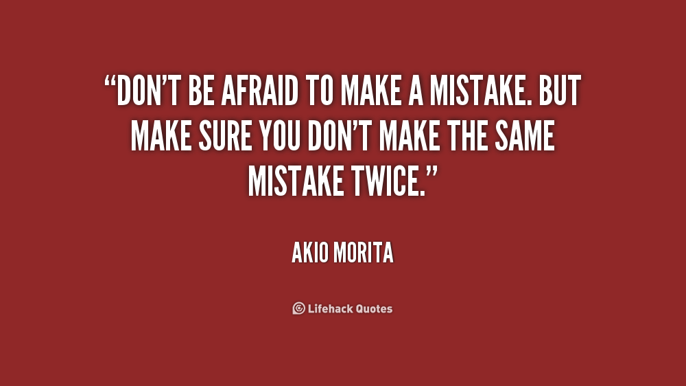 Made A Mistake Quotes. QuotesGram