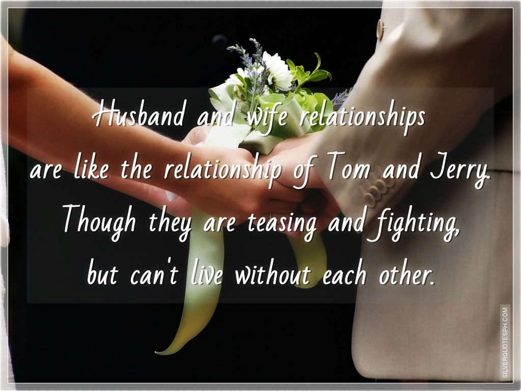 Husband Wife Pics With Quotes: Husband And Wife Inspirational Quotes. QuotesGram