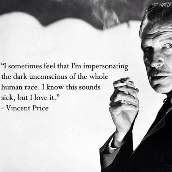 Price Quote: Vincent Price Quotes. QuotesGram