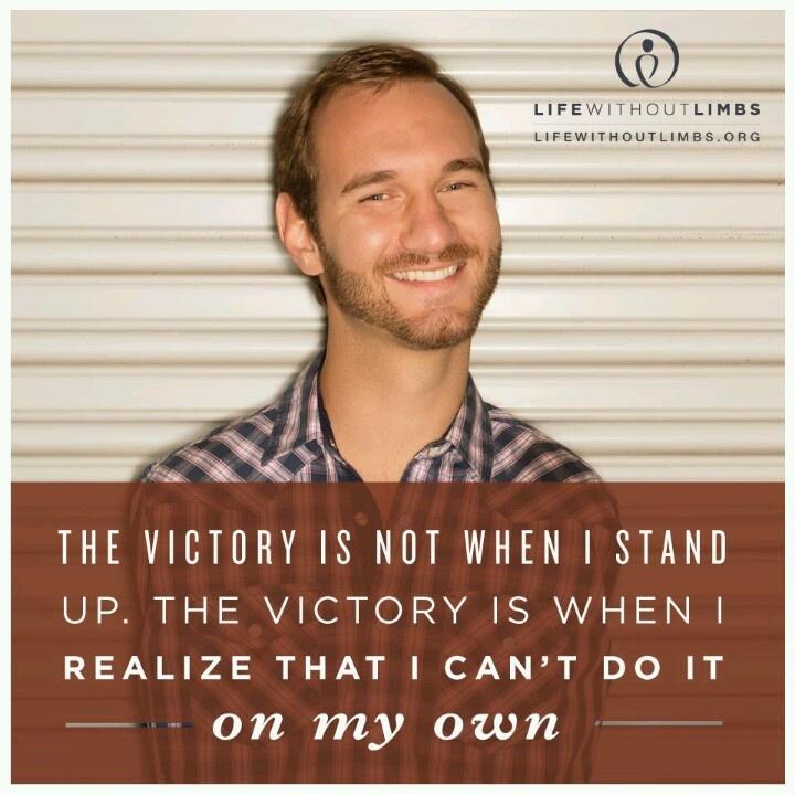 Nick Vujicic Inspirational Quotes. QuotesGram