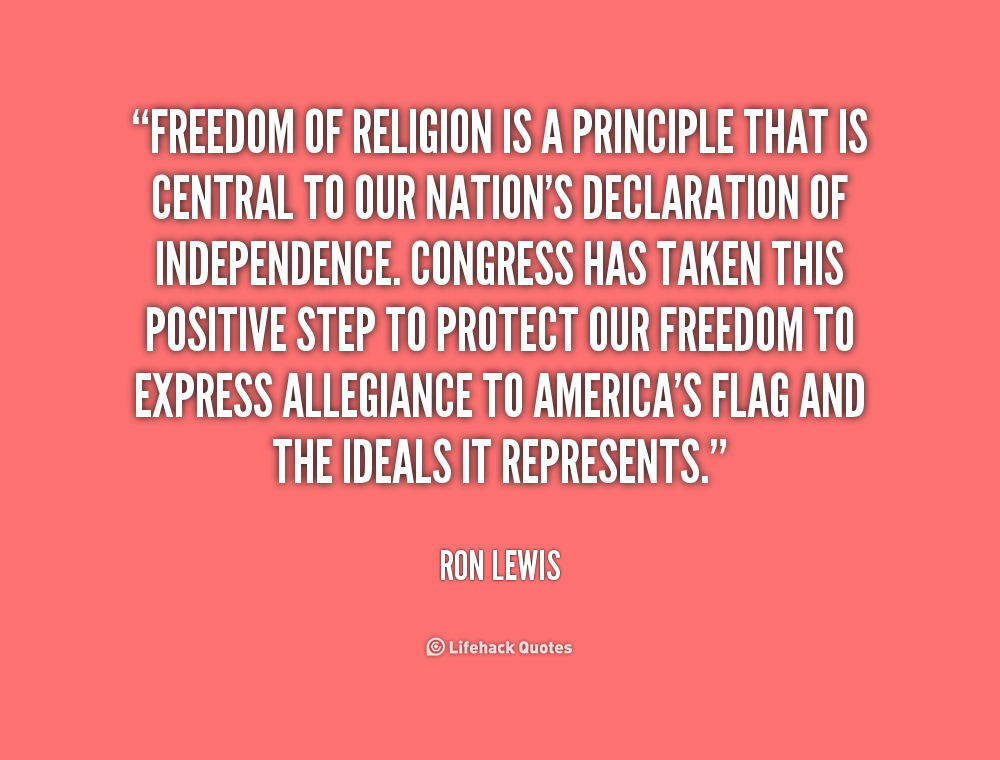 the freedom of religion Freedom house is an independent watchdog organization dedicated to the expansion of freedom and democracy around the world we analyze the challenges to freedom.