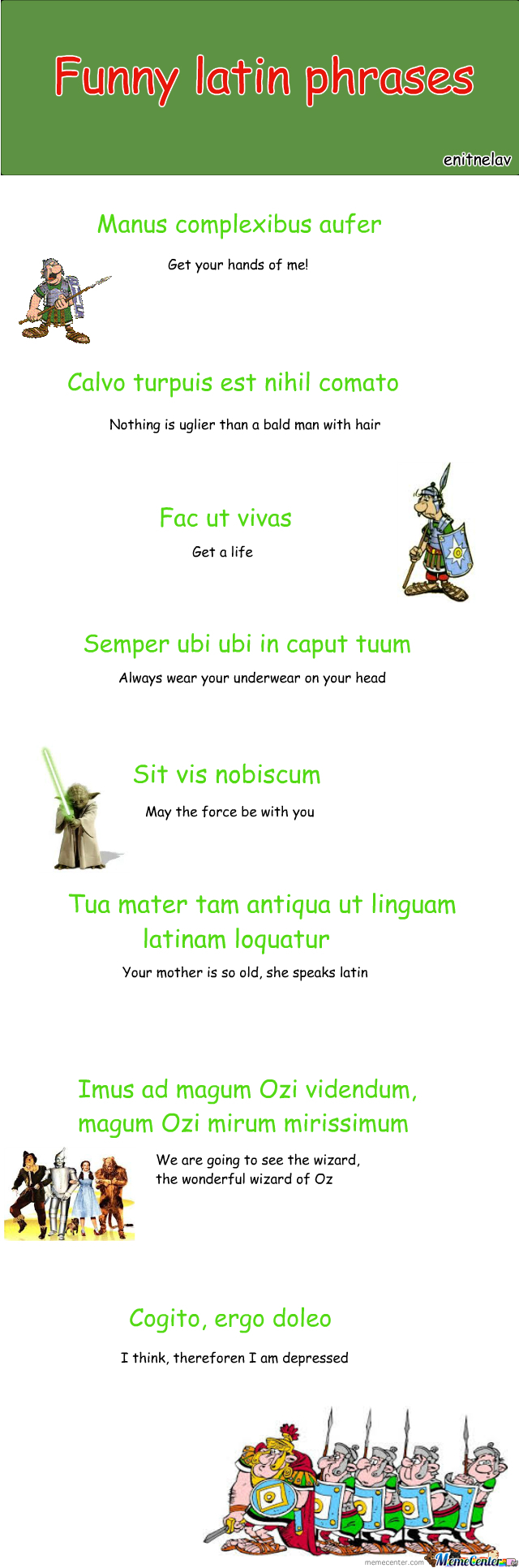 Funny Latin Quote 116