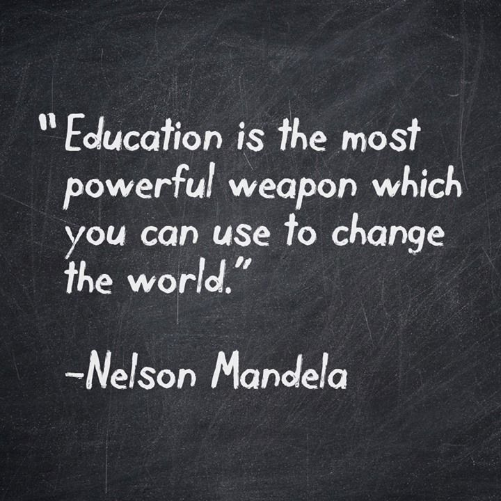 quotes about education nelson mandela quotesgram