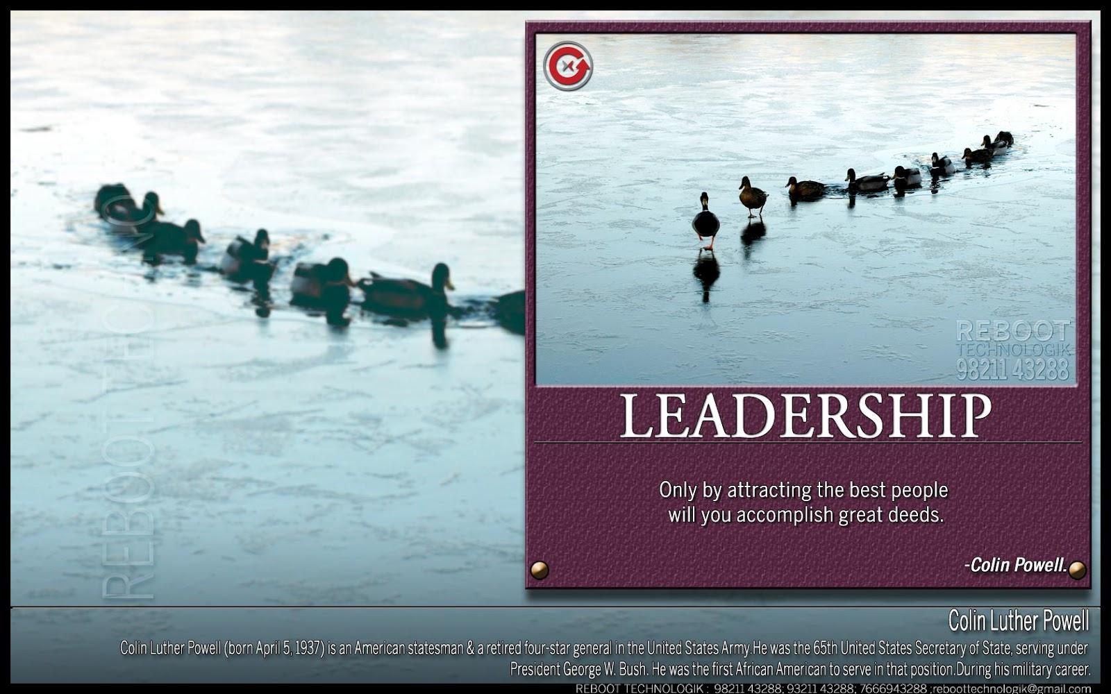 Leadership Motivational Quotes Quotesgram