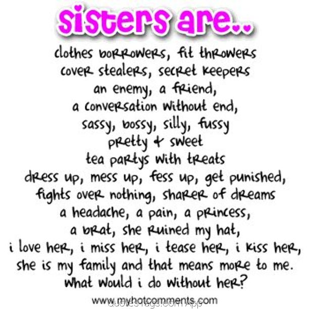 facebook quotes about sisters quotesgram