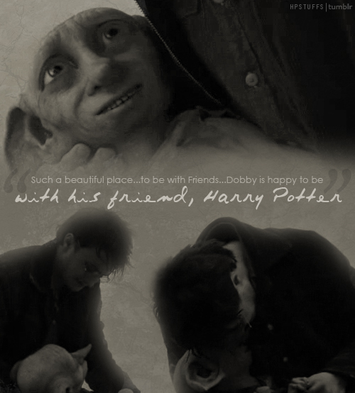Harry Potter Quotes On Friendship: Friend Movie Quotes Dobby. QuotesGram