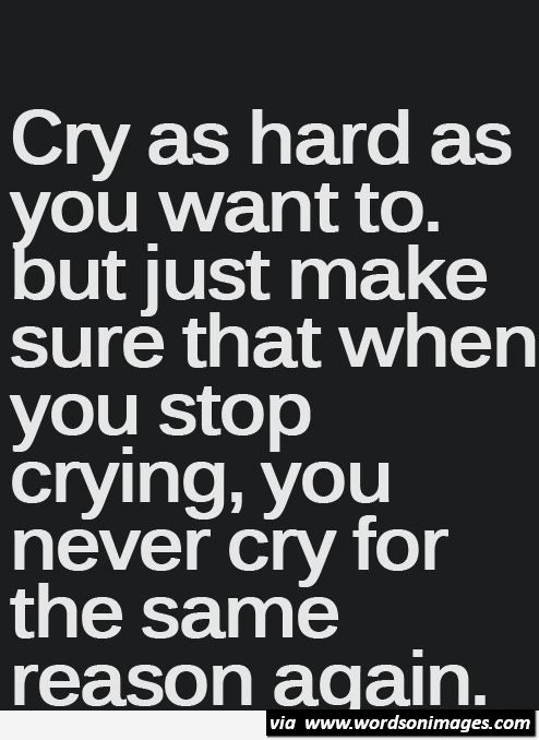 Crying Inspirational Quotes. QuotesGram