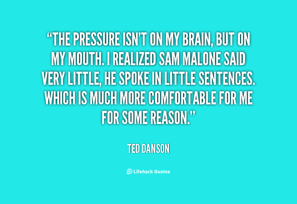 Grace Under Pressure Quote: Quotes About Pressure In Sports. QuotesGram