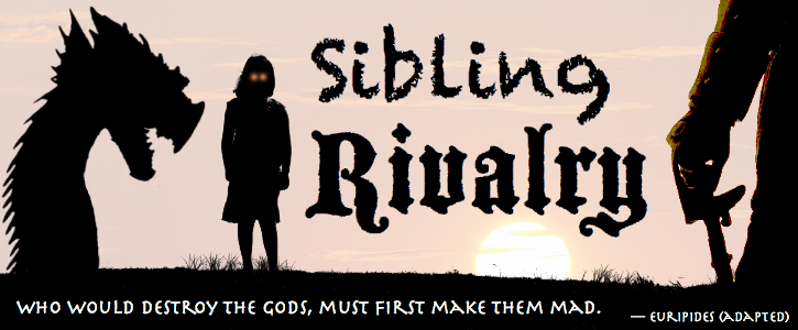 sibling rivalries in the bible Nick duerden and his brother stopped speaking 10 years ago they will probably never speak again, he thinks heartbreaking or perfectly normal sibling rivalry.