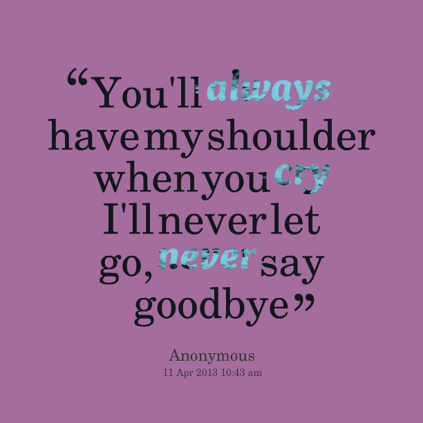 I Never Cry Quotes. QuotesGram