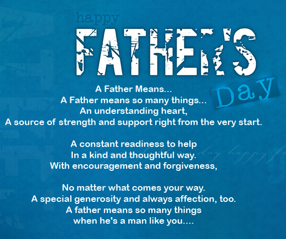 To My Son On Father S Day Quote: Christian Fathers Day Quotes. QuotesGram
