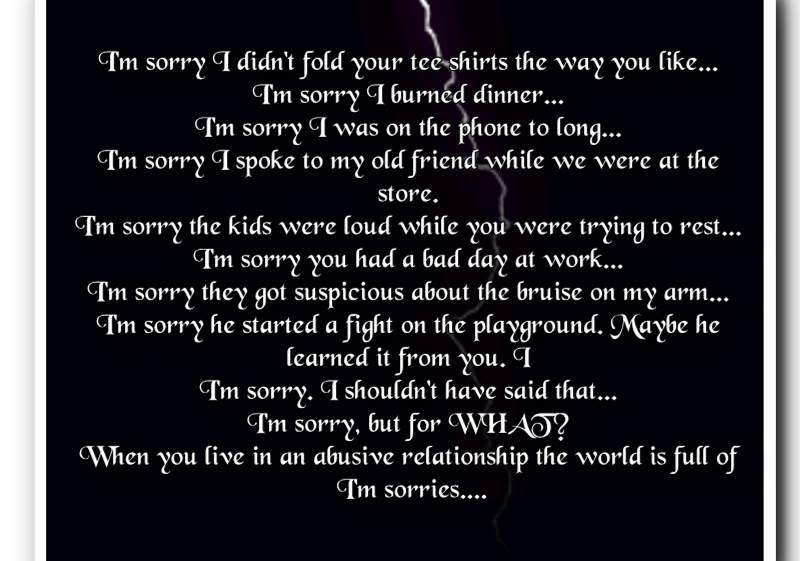 Im Sorry Boyfriend Quotes
